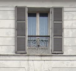 La facciata di casa guidi - Parapetto finestra ...