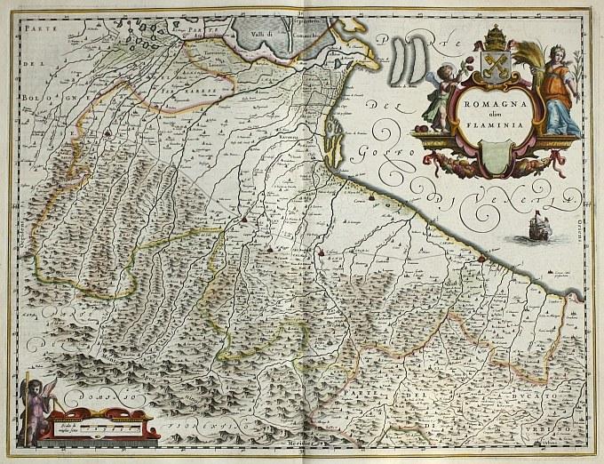 I confini fra Romagna e Toscana